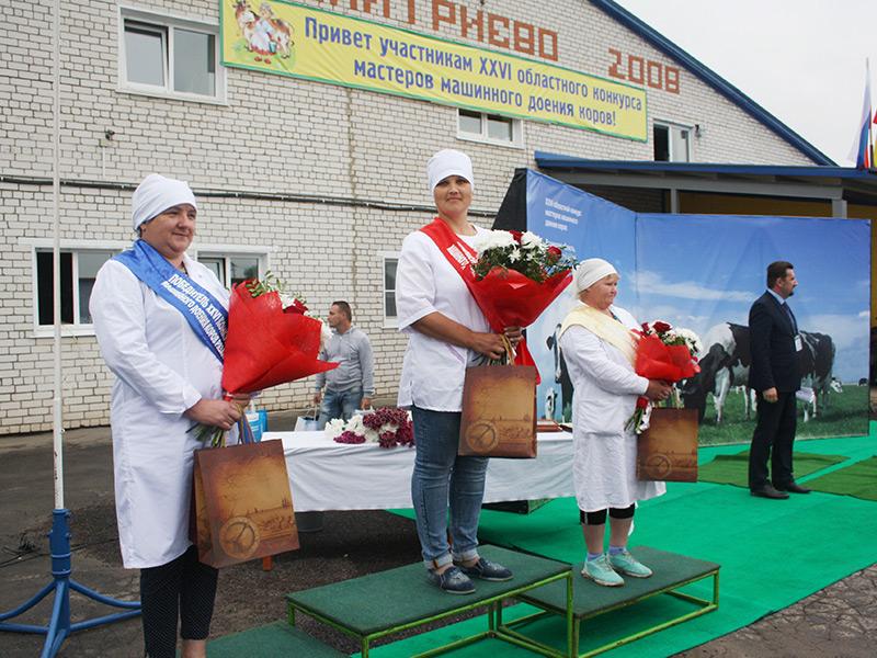 В Рязанской области прошел региональный конкурс мастеров машинного доения