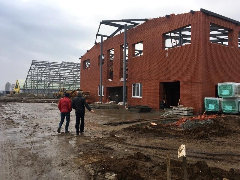 Строительство животноводческого комплекса на 2100 голов в с. Подвязье, Рязанский район