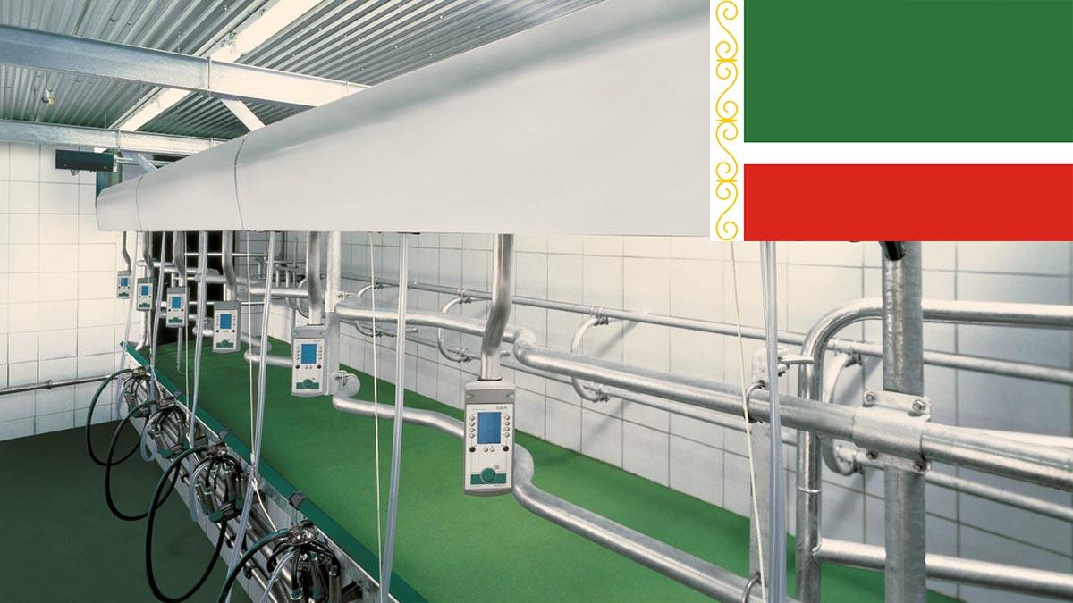 «Вестфалиясервис» завершила работы по монтажу доильного оборудования в Чеченской республике